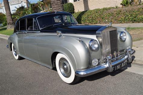 black bentley sedan 1961 bentley s2 sedan black leather stock 6cu for sale