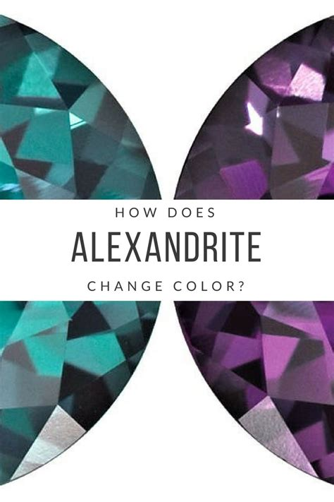 alexandrite color change how does alexandrite change color gem rock auctions