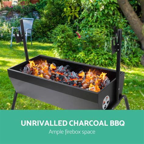 Backyard Grill Electric Rotisserie Grillz Portable Electric Rotisserie And Charcoal Bbq Grill