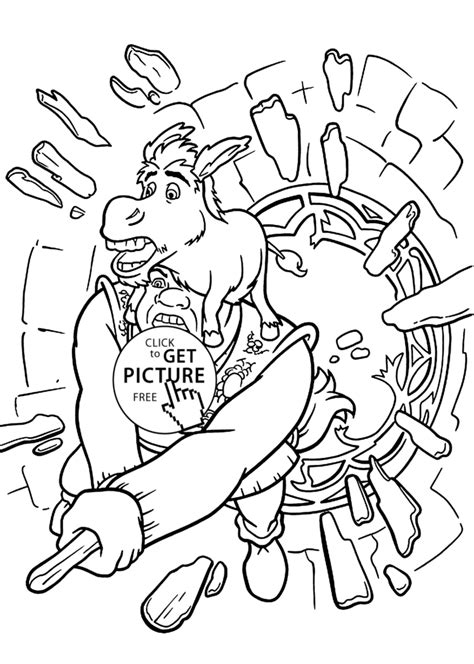 shrek coloring pages shrek coloring pages www imgkid the image