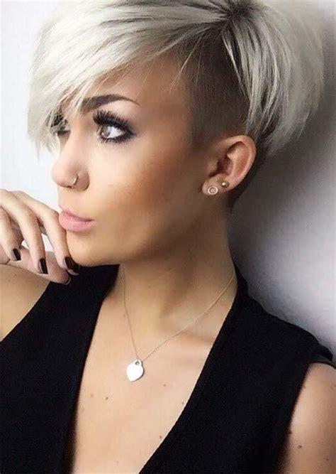 what hair types suit womens undercuts short undercut haircuts for women 3 haircuts