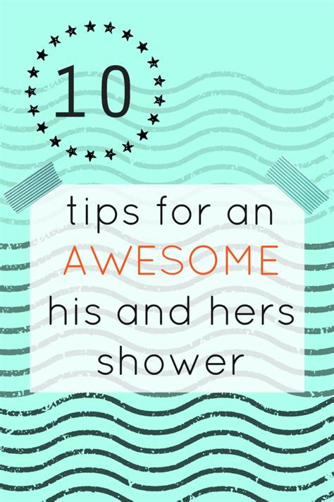 10 Tips for a Successful Co ed Wedding Shower