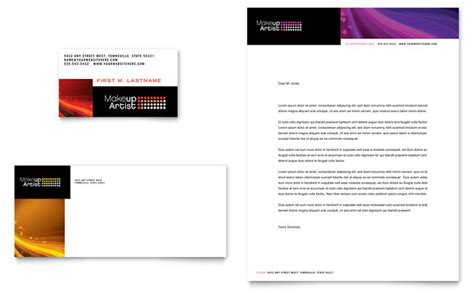 free letterhead templates for mac makeup artist business card letterhead template design