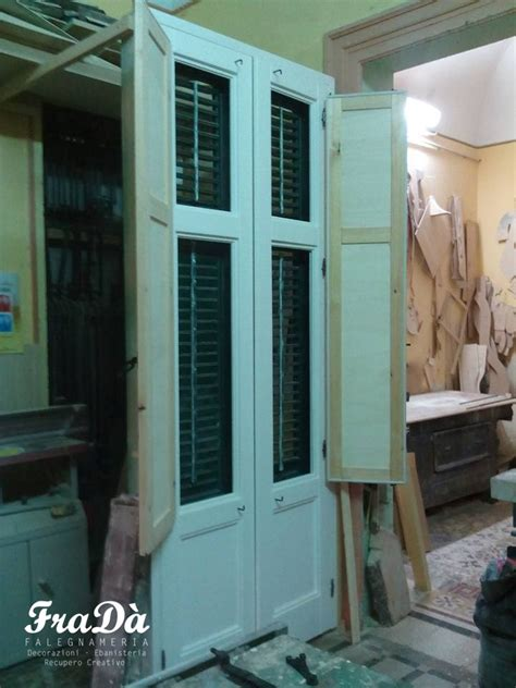 restauro persiane legno restauro infissi e persiane in legno falegnameria frad 224