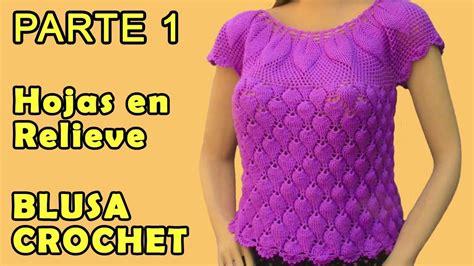 blusa tejida a crochet para verano parte 1 de 2 blusa blusa turquesa talla xl parte 1 opci 243 n talla ch m g