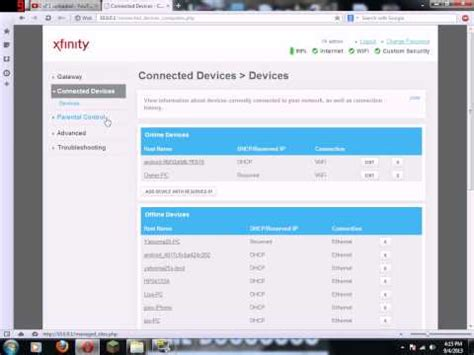 forwarding external ip how to open nat on comcast xfinity standard modem how to