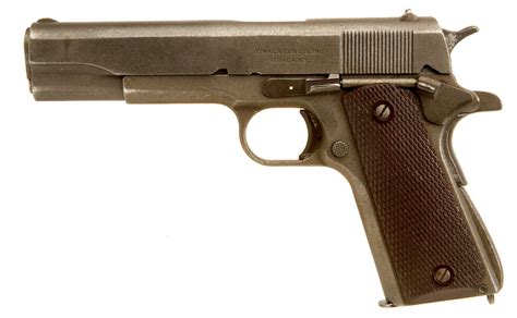 deactivated spec wwii us colt 1911a1 ithaca allied deactivated guns deactivated guns