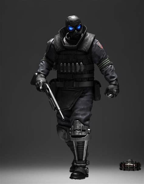 Future Warrior beltway future cyberpunk armor future warrior weapon