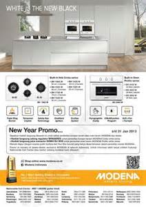 Oven Terkini modena new year promo discount and promo