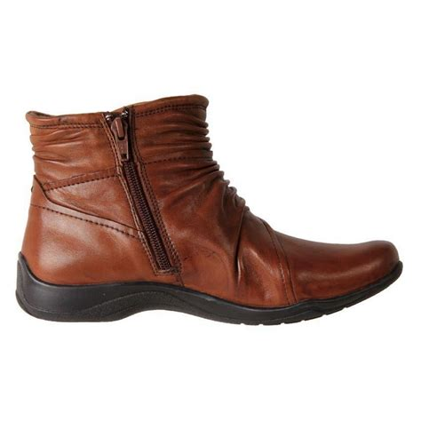 comfort ankle boots new planet shoes women s leather comfort side zip ankle