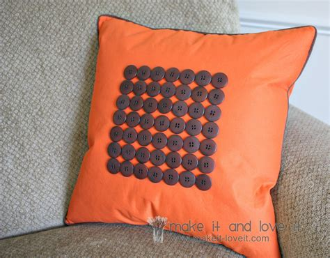 How To Make A Pillow With Button decorate my home part 20 button piping pillow cover