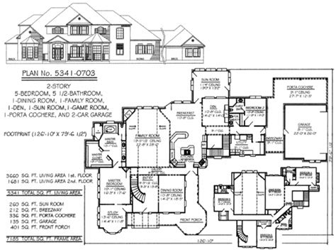 5 bedroom floor plans 2 story floor plans for small homes floor plans for 5 bedroom