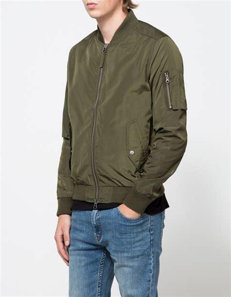 Jaket Topman Topman Ma1 Bomber Jacket In Green For Lyst