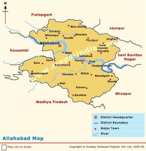 map of allahabad city opinions on allahabad district