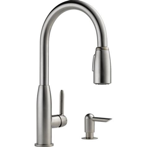Brushed Nickel Kitchen Faucet Peerless Pull Kitchen Faucet Brushed Nickelcyprustourismcentre Cyprustourismcentre