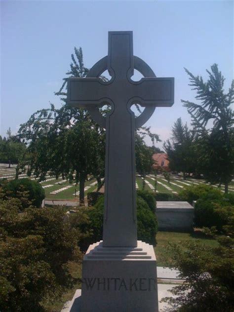large upright cross monument acme stone company