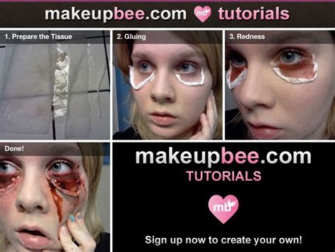 Latex Tutorial Step By Step | halloween makeup diy how to use liquid latex tissue