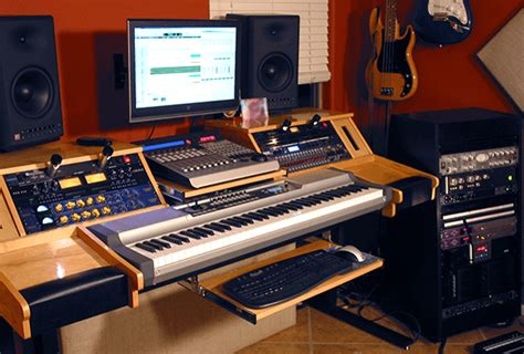Diy Music Desk Do It Your Self Studio Desk Designs