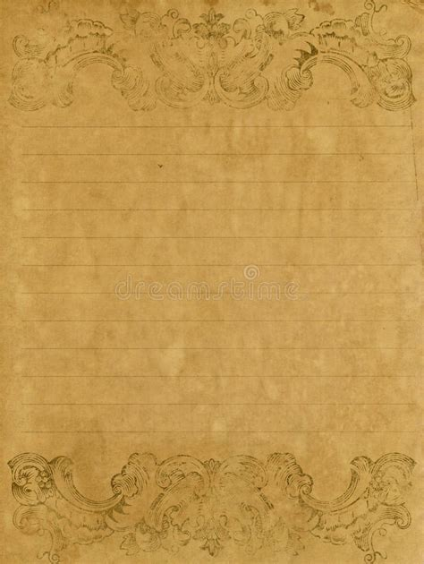 grunge letter paper stock photo image blank