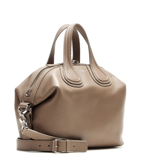 New Of Givenchy Nightangle Smalll givenchy nightingale small leather tote in lyst