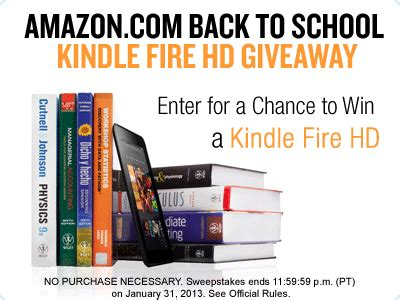 Amazon Kindle Giveaway - amazon giveaway 500 people will win kindle a fire hd