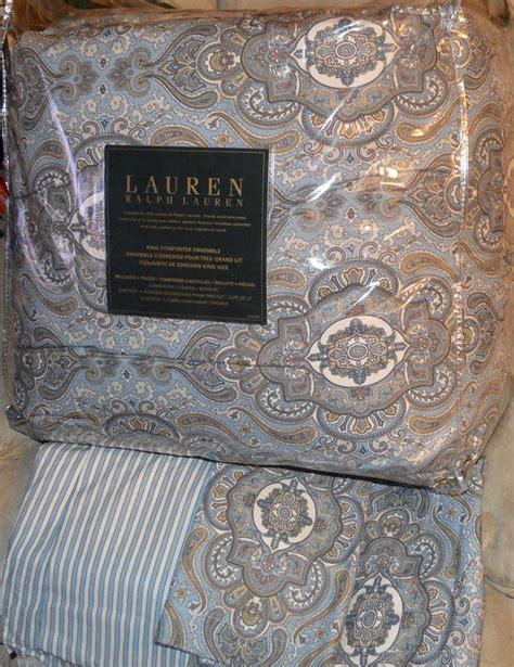 ralph lauren paisley comforter ralph lauren colchester mist paisley king or queen