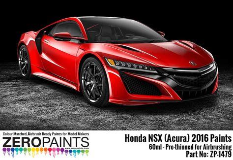 51586 Tamiya Honda Acura Nsx 2016 Set honda nsx acura 2016 paints 60ml zp 1479 zero paints