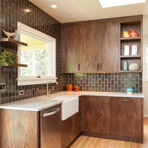 Mid Century Kitchen Cabinets by Woodlawn Kitchen Remodel Midcentury Kitchen Portland