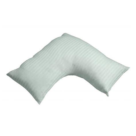 v pillow cotton v shaped pillow cases luxury 330 tc satin