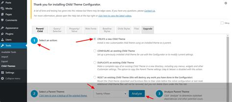 child theme creator wordpress how to create a wordpress child theme updated guide
