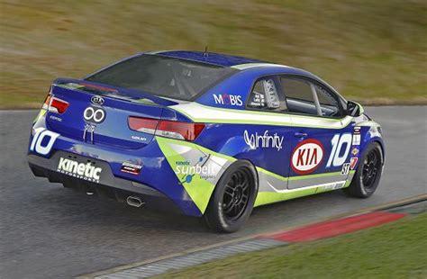 Kia Autoworld Kia Plunges Forte Koup Into Racing Autoworld My
