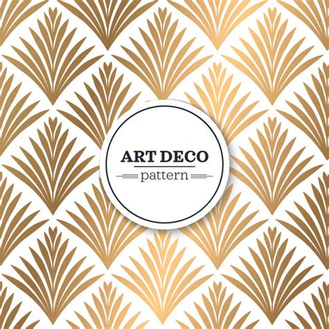 vector pattern art deco art deco seamless pattern vector free download