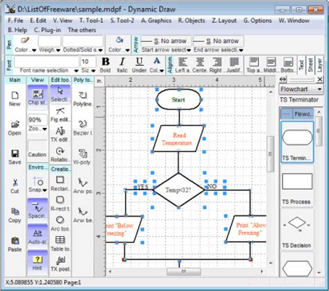 free software for drawing flowcharts for pc dynamic draw 5 7 1 dl with image