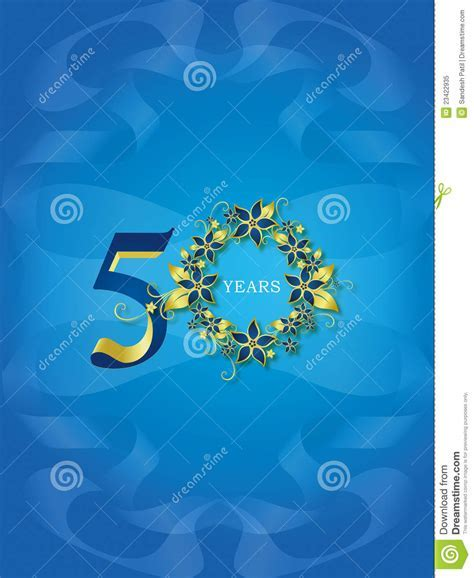 50 Years / Golden Jubilee Royalty Free Stock Photo   Image