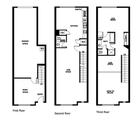 stadium lofts anaheim floor plans santiago street lofts plan 1