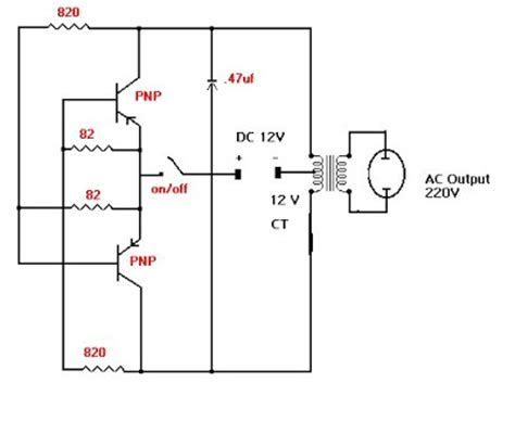 transistor npn inverter pnp transistor inverter circuit diagram simple pnp free engine image for user manual