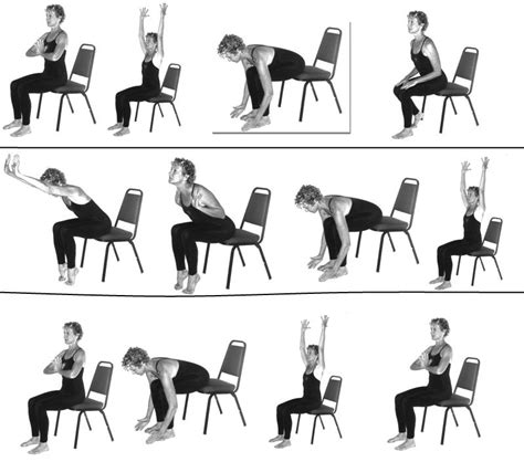 printable chair yoga poses for seniors chair yoga poses for seniors style chair yoga for