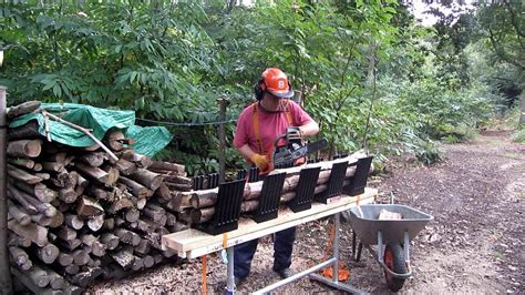 logging saw bench truncator chainsaw logging bench as seen on dragon s den