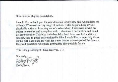 Sle Thank You Letter For Generous Donation Thank You For Your Generous Donation Vertola