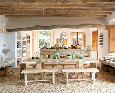 Rustic Chic Dining Room Tables Rustic Chic Dining Room Decobizz