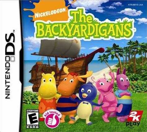 Backyardigans Ds The Backyardigans Box For Ds Gamefaqs