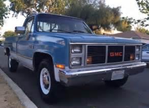1987 gmc classic 2500 454 socal original truck for