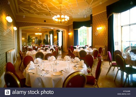 The Dining Room Ie by Dining Room Inside Belfast Castle Northern Ireland Stock
