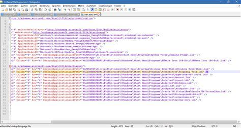 layout xml windows 10 einheitliches startmen 252 f 252 r alle nutzer