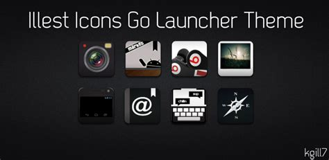 theme creator go launcher illest icons go launcher theme by kgill77 on deviantart