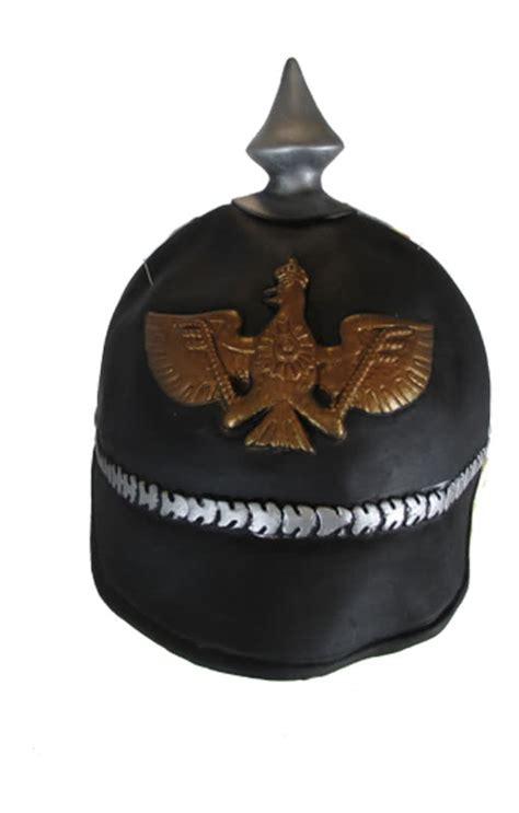 preußischer adler prussian pickelhaube helmet with peak horror
