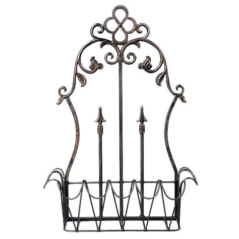 Wrought Iron Wall Planter by Conventry Wall Planter