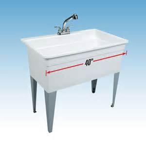 Bathtub Pull Out Faucet E L Mustee Amp Sons 28cf Big Tub Utilatub 174 Combo