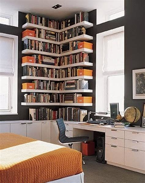 bookshelf ideas for small rooms bedroom office combo decorating ideas myideasbedroom com
