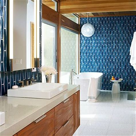Mid Century Modern Bathroom Tile Funky And Functional Modern Bathroom Updates That Are As